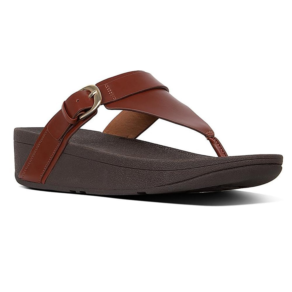 258ce739f Fitflop Edit Leather Toe post Sandal - Womens from Westwoods Footwear UK