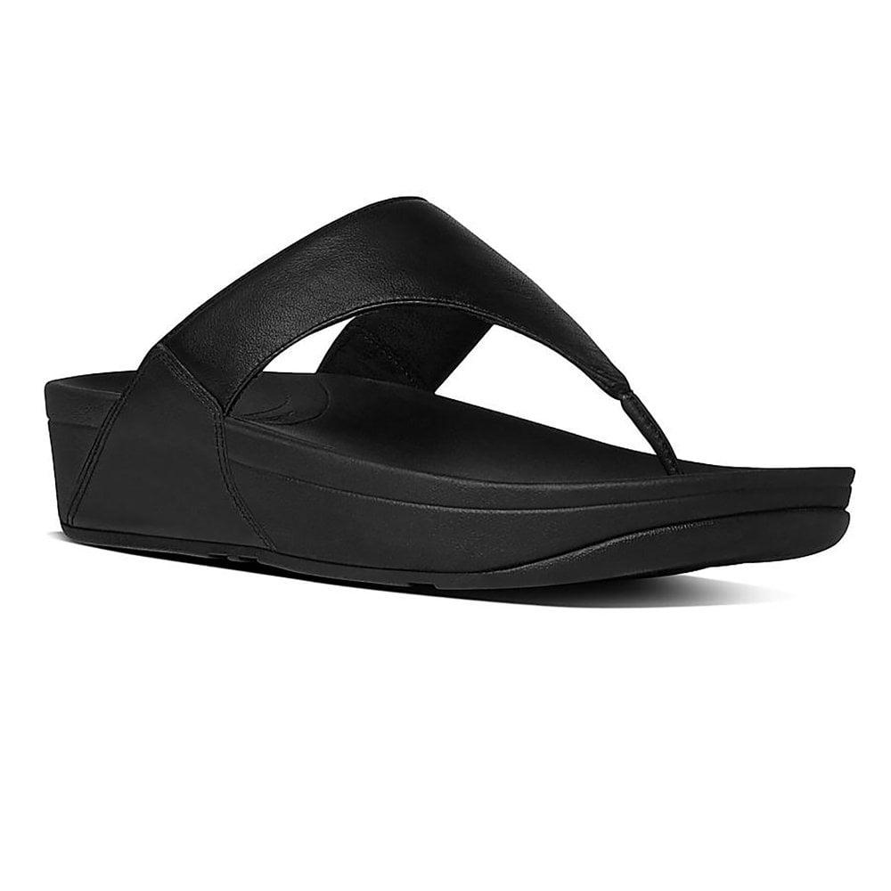 d4c5e216e4bdea Fitflop Lulu Leather Toe Post Sandal - Womens from Westwoods Footwear UK