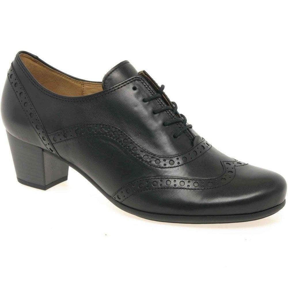 Gabor Denver Heeled Lace up Brogue Shoe