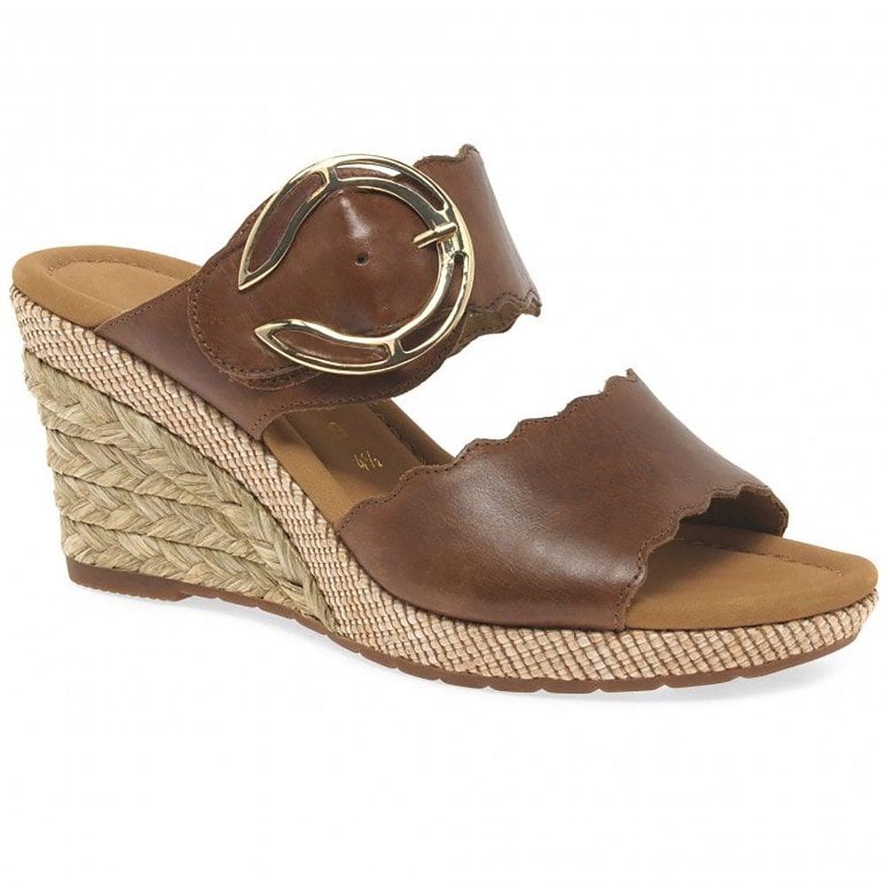 exclusive shoes buy popular price reduced Kent Mule Wedge Sandal