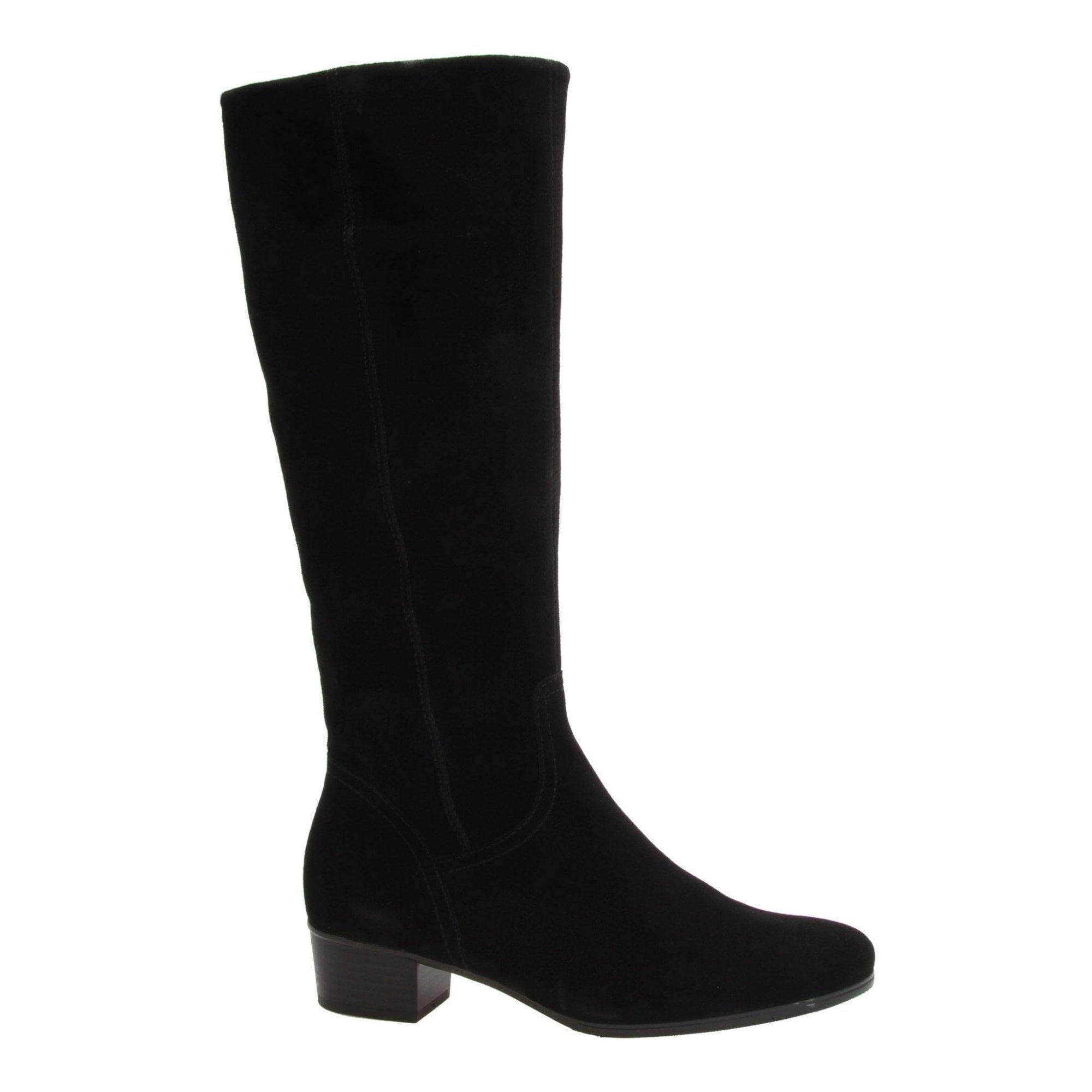 Gabor Toye S Long SLIM Leg Suede Boot