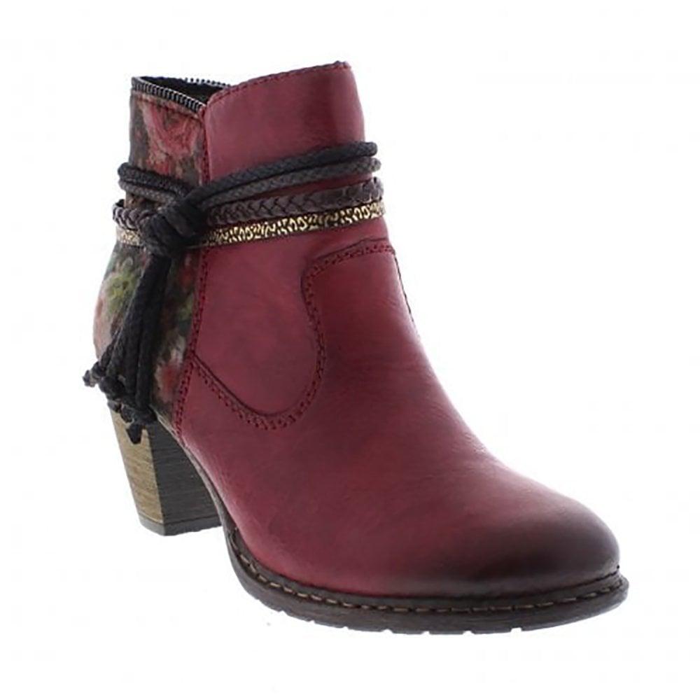 Rieker Heeled Ankle Boot - Womens from Westwoods Footwear UK 884eaeec3c0f