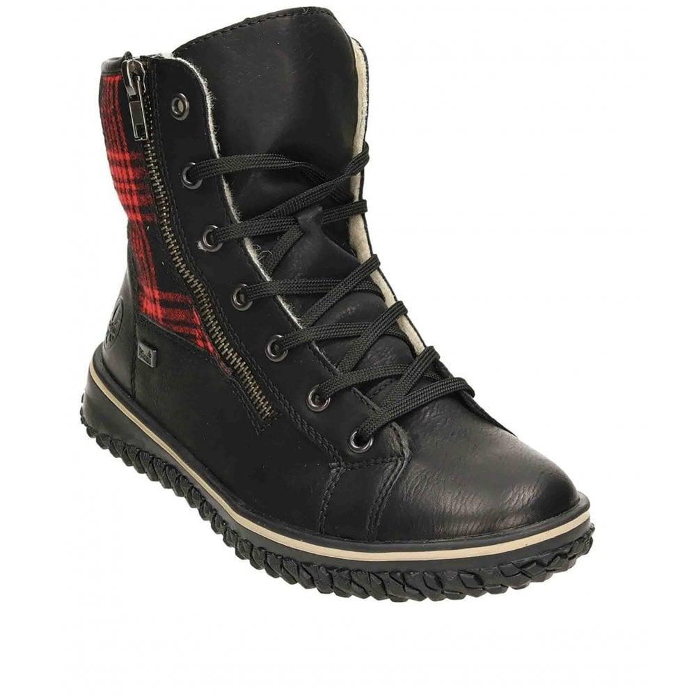 Rieker Z4210 Waterproof Zip Up Boot